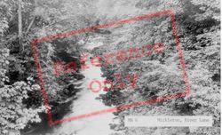 The River Lune c.1955, Mickleton