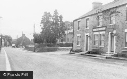 Mickleton, The Rose And Crown Inn c.1955