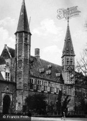 Abdij c.1930, Middelburg