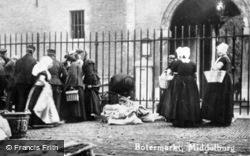 Botermarkt c.1900, Middelburg
