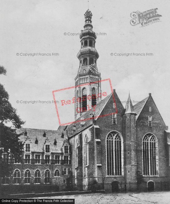 Photo of Middelburg, Lange Jan And Nieuwe Church c.1935