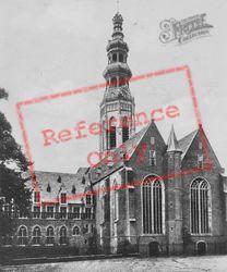 Lange Jan And Nieuwe Church c.1935, Middelburg