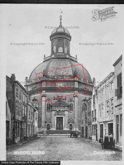 Photo of Middelburg, Oostkerk c.1920