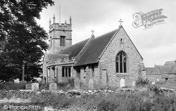 Middle Littleton, St Nicholas Church c.1960