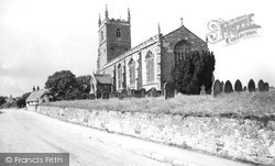 Middle Rasen, St Peter's Church c.1955