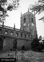 Middle Tysoe, St Mary's Church c.1950