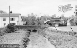 Middle Wallop, Bridge By The Cross Roads c.1960