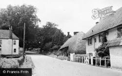Middle Wallop, Salisbury Road c.1955