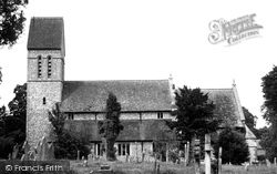 Middle Wallop, St Peter's Church c.1955