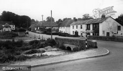 Middle Wallop, The Cross Roads c.1955