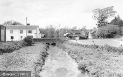 Middle Wallop, The Cross Roads c.1960