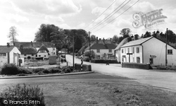 Middle Wallop, The Cross Roads c.1965