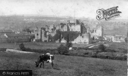 Middleham, Castle 1902