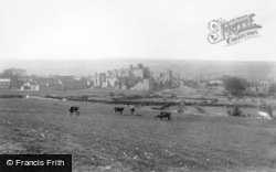 Middleham, Castle 1908