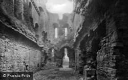Middleham, Castle 1914