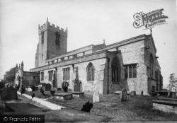 Middleham, Church 1893