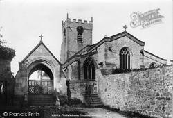 Church And Lychgate 1902, Middleham
