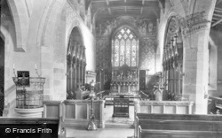 Middleham, Church Interior 1902