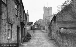 Church Of St Mary And St Alkelda c.1932, Middleham
