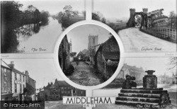 Middleham, Composite c.1935