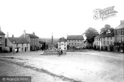 Market Place 1893, Middleham