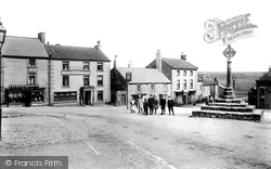 Market Place And The Cross 1908, Middleham