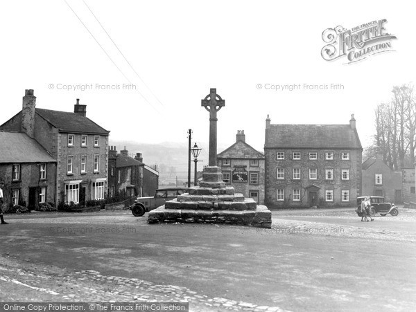 Photo of Middleham, Market Place c.1932