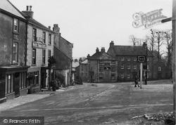 Market Place c.1932, Middleham