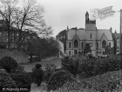 Neville Hall And Birch Memorial School c.1932, Middleham