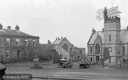 Neville Hall And Schools c.1932, Middleham
