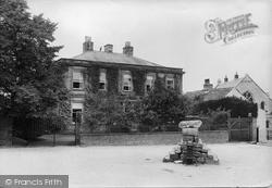 Neville Hall And Upper Cross 1914, Middleham