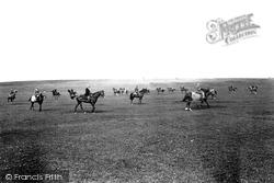 Race Horses On The Moor 1914, Middleham