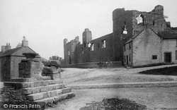 The Castle And Cross 1896, Middleham