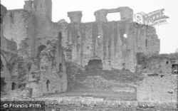 Middleham, The Castle c.1932