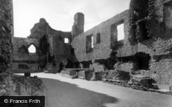 Middleham, The Castle c.1955