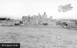 Middleham, The Castle c.1965