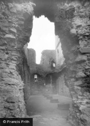 Middleham, The Castle Keep c.1960