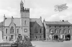 The Swine Cross And School c.1955, Middleham