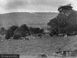 Middleham, View From Danby Hall 1926