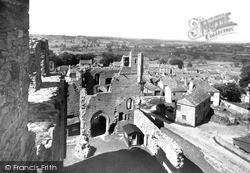 View From The Castle c.1955, Middleham