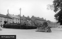 Middleham, West End c.1960