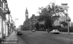 Albert Road c.1965, Middlesbrough