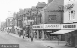 Linthorpe Road Shops c.1960, Middlesbrough
