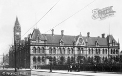 Municipal Building And Victoria Square 1901, Middlesbrough
