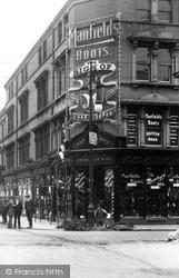 Shoe Shop, Linthorpe Road 1913, Middlesbrough