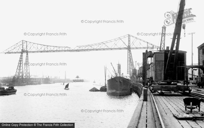 Photo of Middlesbrough, The Transporter Bridge 1913