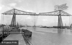 The Transporter Bridge c.1955, Middlesbrough