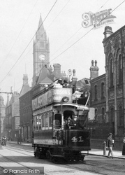 Tram In Corporation Road 1901, Middlesbrough