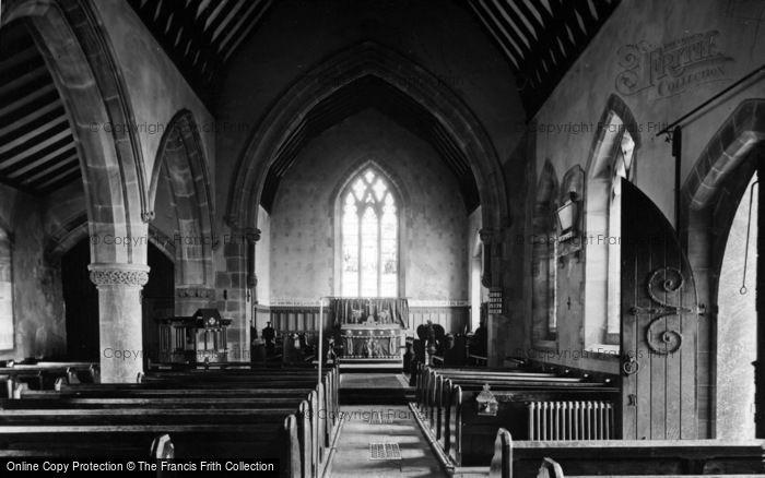 Photo of Middlesmoor, Church Interior c.1935