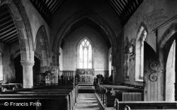 Church Interior c.1935, Middlesmoor
